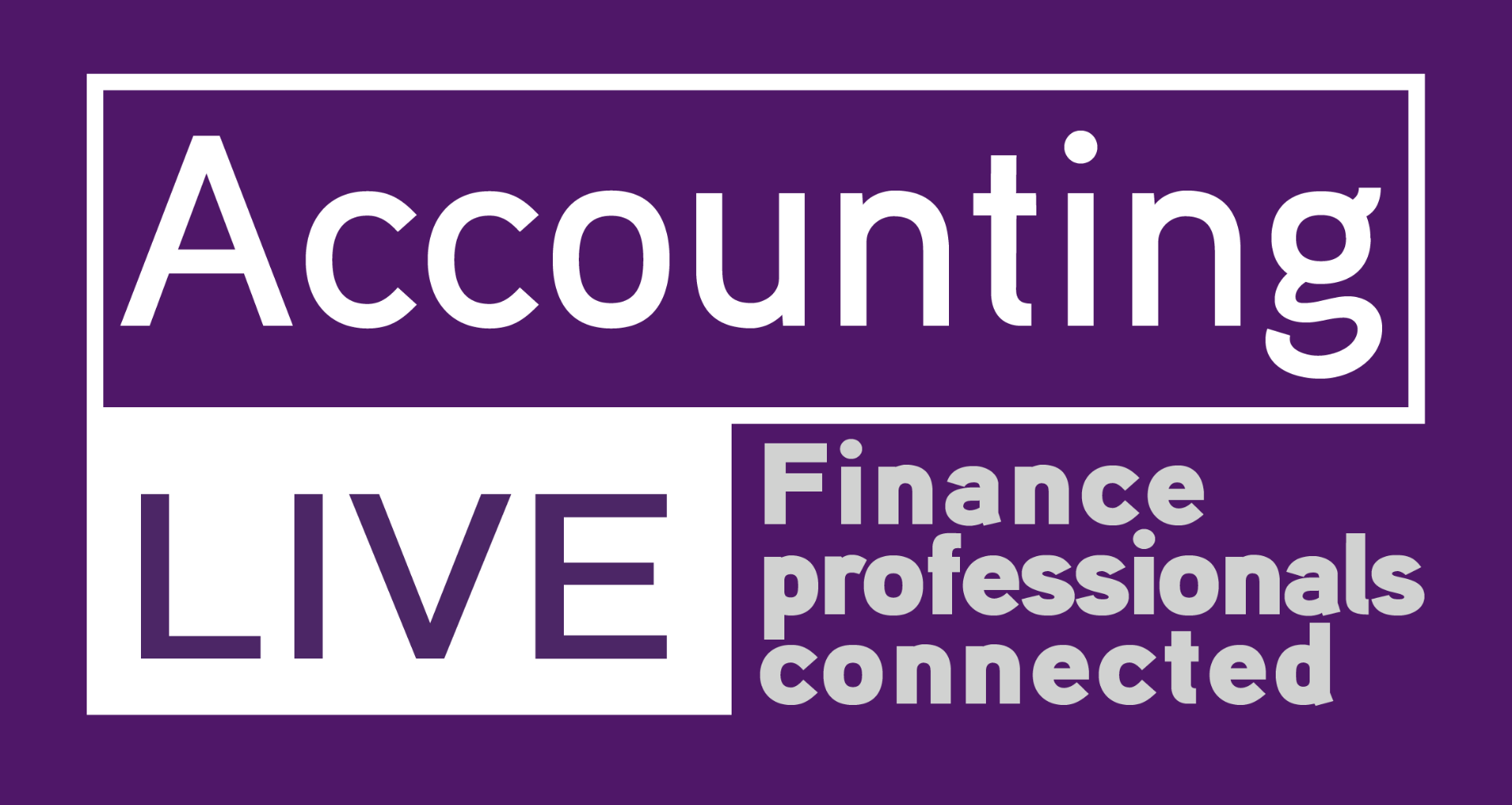 Banner advertising Accounting Live in Glasgow in November 2018 where Forecast 5, top UK forecasting software will be exhibited.