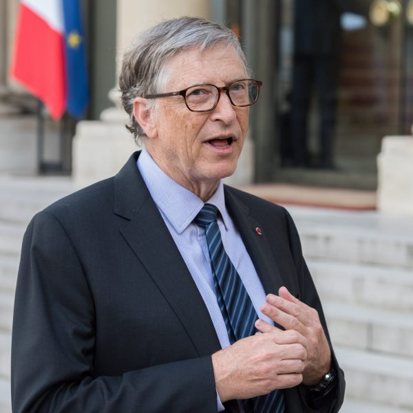 Paris,,France,-,April,16,,2018,:,Bill,Gates,At