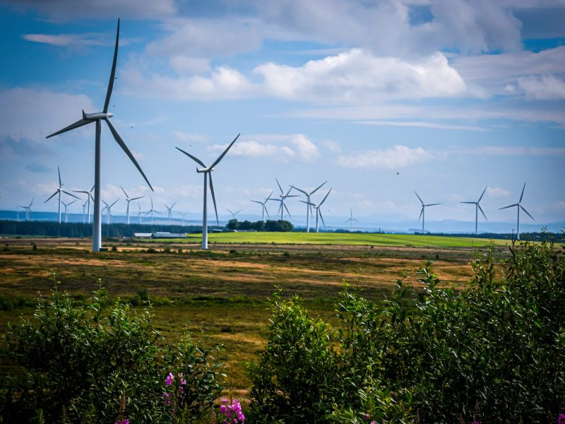 Uk,Scotland,25th,July,2019,,Wind,Is,Converted,By,The